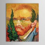 Best Hand Painted High World Top Famous Paintings Vincent Van Gogh Self Portraits