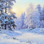 Best Painting Winter Scenes Pinterest Oil Canvas Paintings