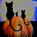Best Spooky Halloween Paintings Pinterest Painting