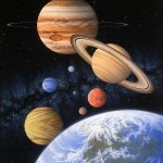 Beyond Home Planet Painting Lynette