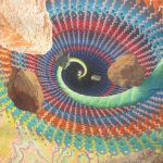 Big Bang Monumental Psychedelic Hippie Painting John Almond