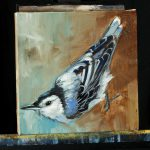Birds Wall Acrylic Painting Lesson Tim Gagnon