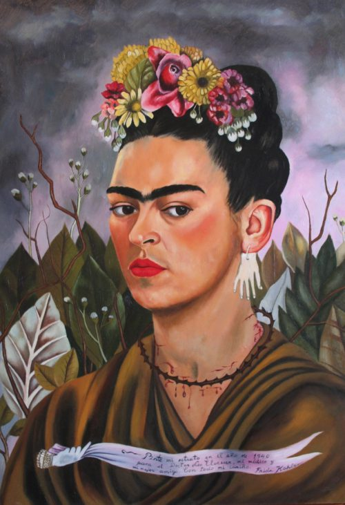 Bizarre Exhibition Presents All Frida Kahlo Paintings Copied Anonymous