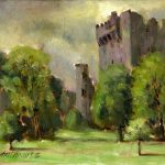Blarney Castle Print Ireland Landscape Art Learn Oil Paint Dvd Videos