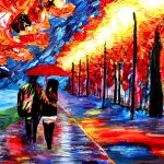 Blind Painter Uses Touch Texture Create Incredibly Colorful Paintings Bored