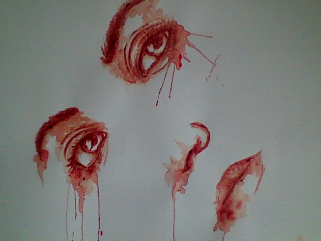 Blood Painting Amypond