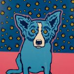 Blue Dog George Rodrigue Starry Nights Make Offer Dss