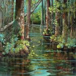 Bluebonnet Swamp Painting Dianne
