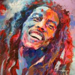 Bob Marley Jos Coufreur Paintings Sale Bluethumb