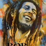 Bob Marley Painting Corporate Art Task