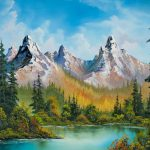 Bob Ross Autumns Magnificence Painting Paintings