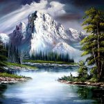 Bob Ross Paintings Sale