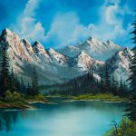 Bob Ross Paintings Sale Home Natures