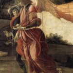 Botticelli Sandro Oil Painting Holy Trinity Detail