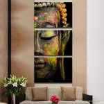 Buddha Oil Painting Wall Art Paintings Paiting Canvas Paints Home Decor