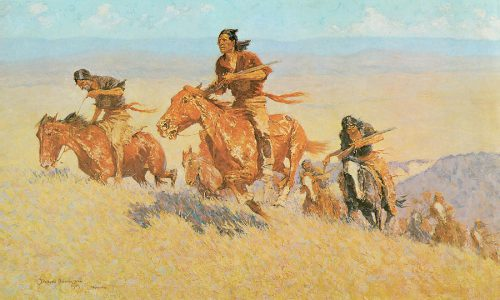 Buffalo Runners Big Horn Basin Painting Frederic