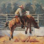 Bull Riding Paintings Imgkid