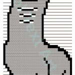 Bunchie Llama Ascii Text Art Codes