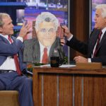 Bush Reveal Putin Portrait Presidential Library Daily