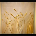 Buy Gold Textured Abstract