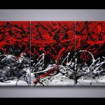 Buy Modern Painting Red Black