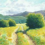 Buy Original Pointillism Painting Country