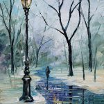 Buy Wholesale Winter Oil Paintings China