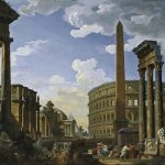 Capriccio Most Important Monuments Sculptures Ancient Rome Painting