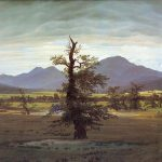 Caspar David Friedrich Landscape Solitary Tree Painting Framed Paintings