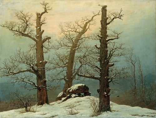 Caspar David Friedrich Time Does Not
