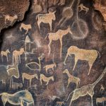 Cave Wall Painting Prehistoric Creativity