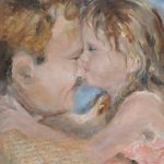 Celebration Oil Father Daughter Beth Schneider Paffenback