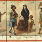 Century Mexican Dress Casta Paintings