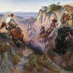 Charles Russell Wild Horse Hunters Western