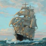 Charles Vickery Clipper Ship