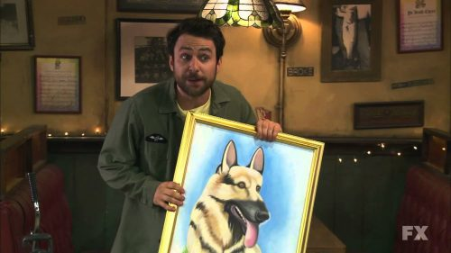 Charlie Hitler Painting