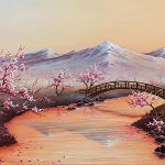 Cherry Blossoms Mist Revisited Painting Joe
