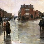 Childe Hassam Rainy Day Boston Google Art Project
