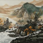 Chinese Autumn Landscape Painting Landscapes Asia Paintings Asian