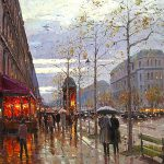 Cityscape Paintings Famous Artists