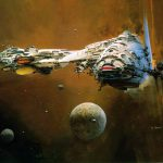 Classic Sci Art John Berkey Science Fiction