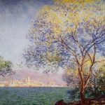 Claude Monet Antibes Morning Painting Best Paintings