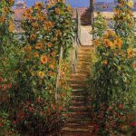 Claude Monet Steps Vetheuil Painting Best Paintings