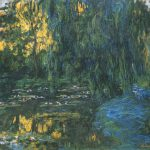 Claude Monet Water Lily Pond Weeping Willow Wikimedia