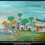 Clementine Hunter Paintings Rare Early Works Circa Late