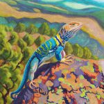 Collared Lizard Painting Ruth