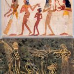 Comparison Musicians Ancient Egyptian Wall Paint