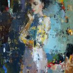 Complete Abstract Paintings Women Bored