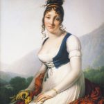 Comtesse Bonneval Anne Louis Girodet Roussy Trioson Private Collection