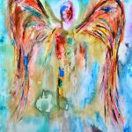 Contemporary Angel Paintings Christian